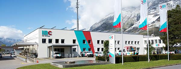 Sitz der IBC Energie Wasser Chur an der Felsenaustrasse.