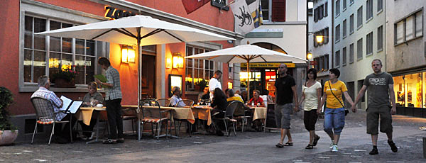 Einladendes Gasthaus am Kornplatz