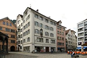 Das Haus Reydt am Martinsplatz.