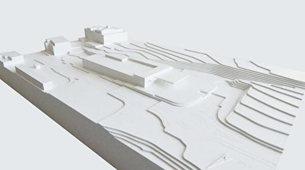 Städtebauliche Setzung Quartierplan Hans Fischer AG