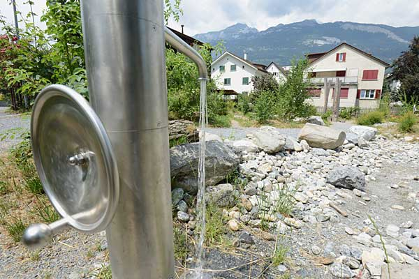 Der totalsanierte und neugestaltete Spielplatz Oberalp