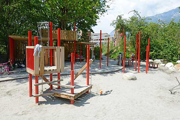 Der Spielplatz Quader