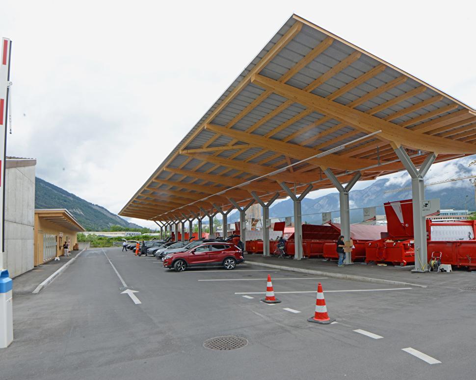 Multisammelstelle der Stadt Chur