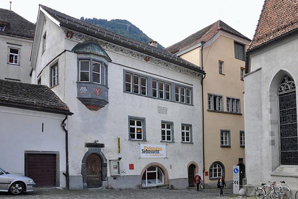 Das einstige Zunfthaus ist heute Sitz des Kulturveranstalters Klibühni.