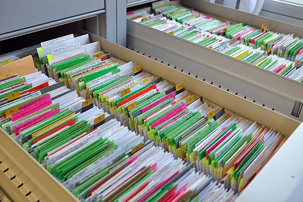 Depostelle für Dokumente