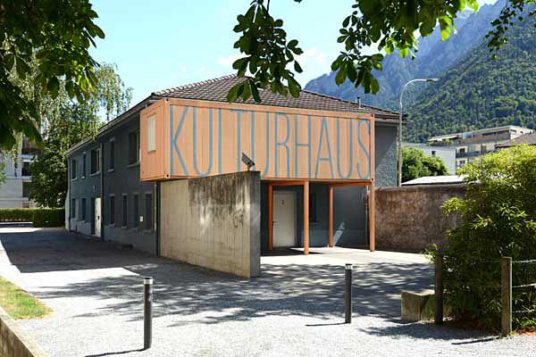 Das Kulturhaus an der Bienenstrasse.