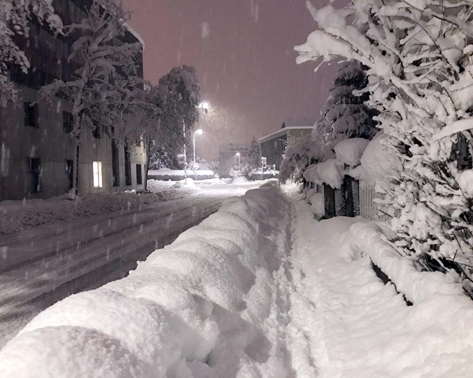 Chur im Schnee