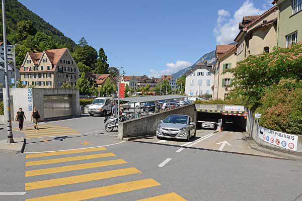 Parkierungsmöglichkeiten