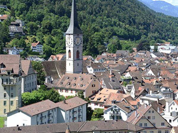 Teil der Churer Altstadt