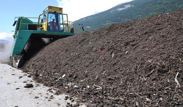 Die Kompostieranlage