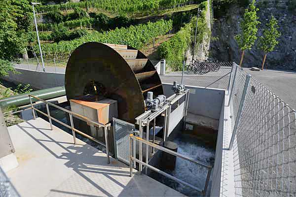 Das Kleinkraftwerk Sand