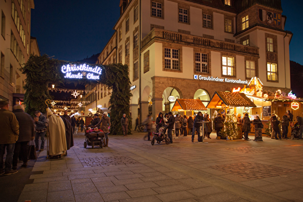 Tor zum Churer Christkindli Markt