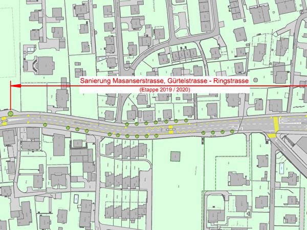 Gestaltungsplan Masanserstrasse