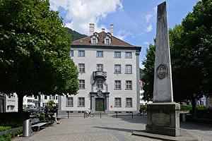 Stadtpalais, Sitz der Bündner Regierung am Regierungsplatz.