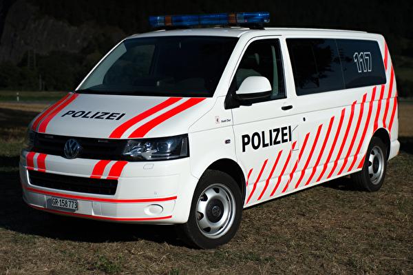 Die Verkehrs- und Sicherheitspolizei ist jederzeit einsatzbereit.