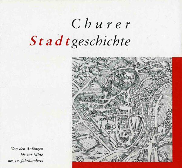 Cover der Churer Stadtgeschichte, Band 1
