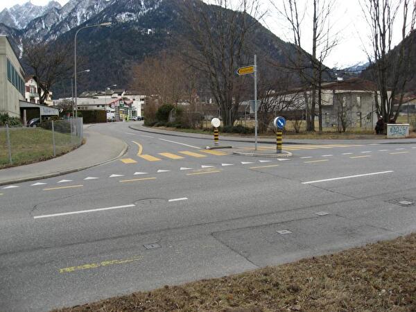 Kreuzung Ringstrasse  - Salvatorenstrasse