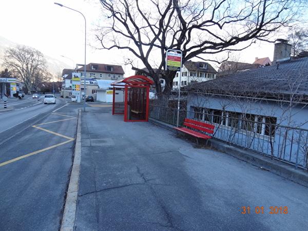 Masanserstrasse vor Baubeginn