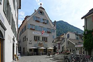 Das einstige Zunfthaus der Rebleute zählt zu den traditionellsten Gasthäusern in der Churer Altstadt.