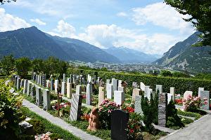 Der Friedhof Fürstenwald.