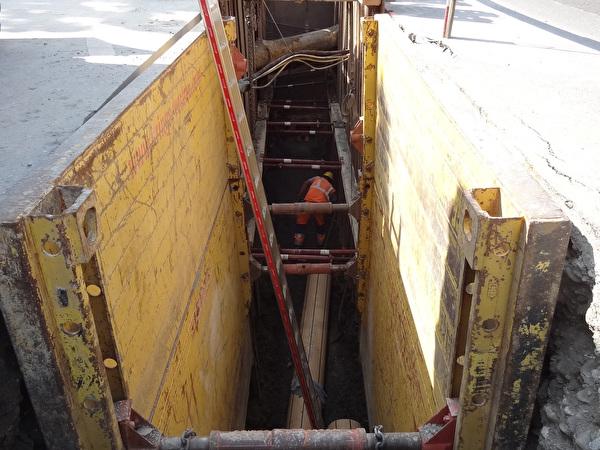 Kanalisationsbau