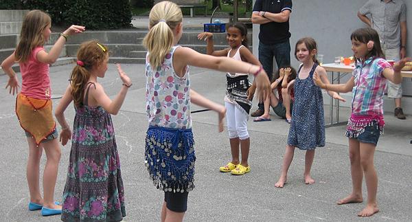 Spass in den Kindertagesstätten der Stadt Chur