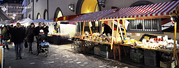 Andreasmarkt in der Poststrasse