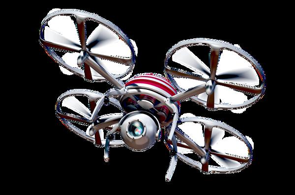 Image 3D d'un drone