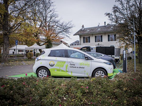 Parking pour véhicule électrique
