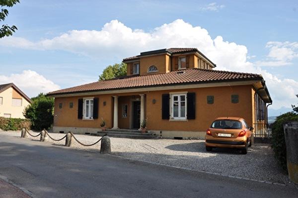 Villa Rüfenacht (Foto Franziska Ryter 2012)