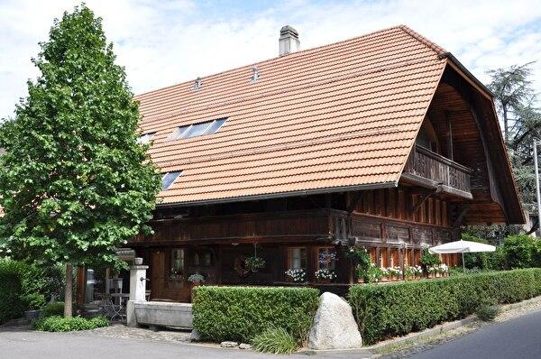 Wohnhaus ehemals mit Metzgerei (Foto Franziska Ryter 2012)