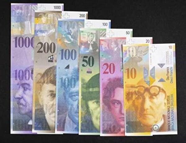 Bild der Banknoten der 8. Serie