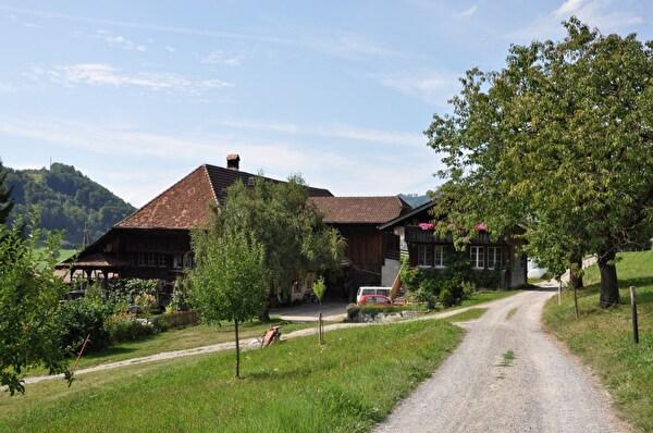 Bauernhaus Sonnhalde (Foto Franziska Ryter 2012)