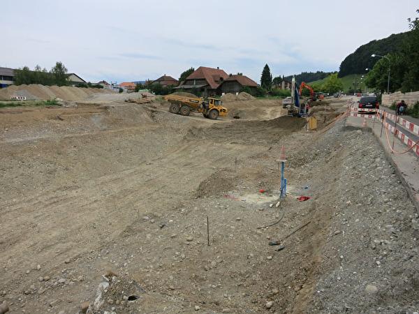 Spange Nord, Juli - September 2014