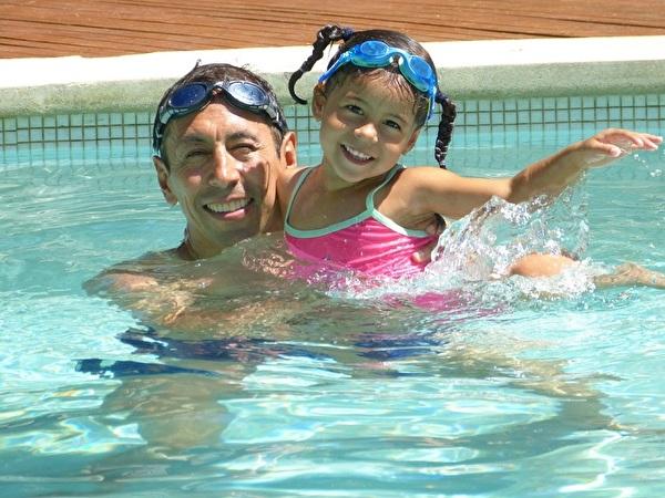 Foto Personen beim Schwimmen