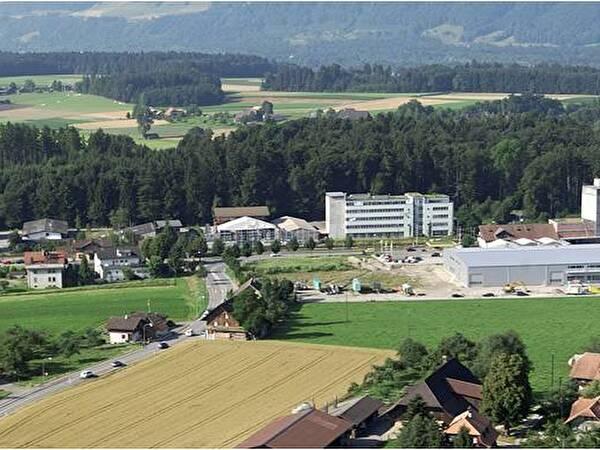 Die Arbeitsplatzzone im Gebiet Worb SBB