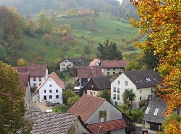 Bild des Dorfes Asp