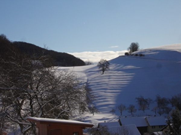 Wintertag über Asp