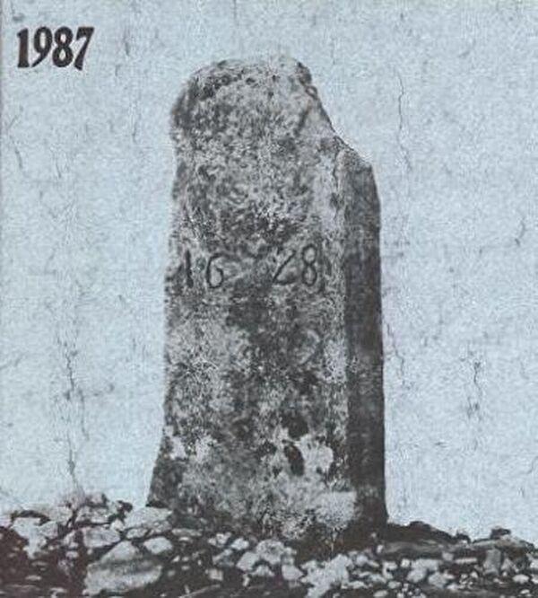 Grenzstein von 1628