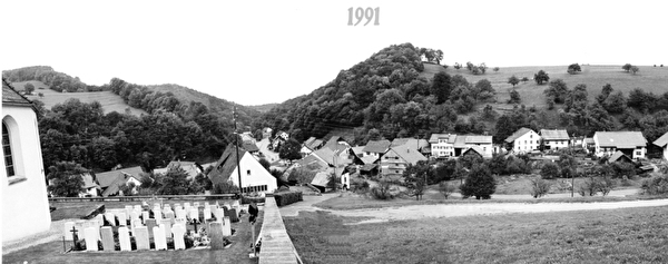Dorfbild 1991