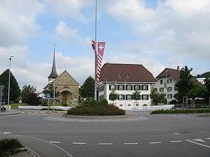 Kreisel Tafers - Dorf