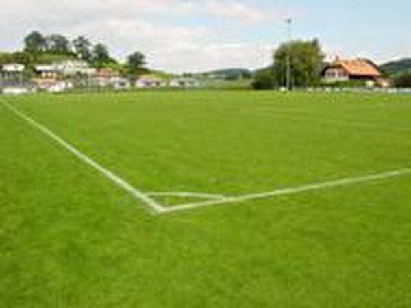 Fussballplatz Hauptfeld