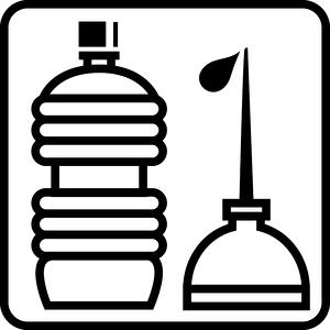 Piktogramm Altöl
