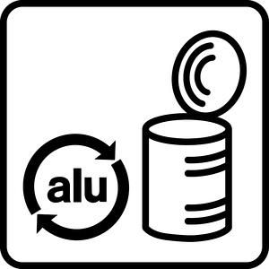 Piktogramm Aluminium