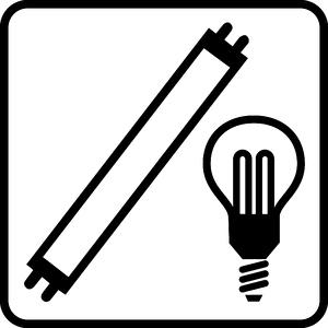 Piktogramm Leuchtmittel