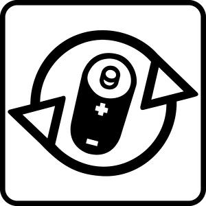 Piktogramm Batterien