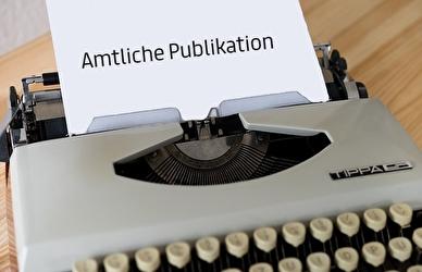 Amtliche Publikation