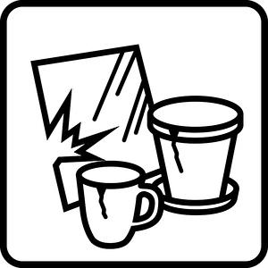 Piktogramm Bauschutt