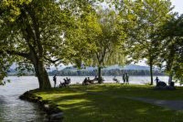 Villettepark Blick Richtung See