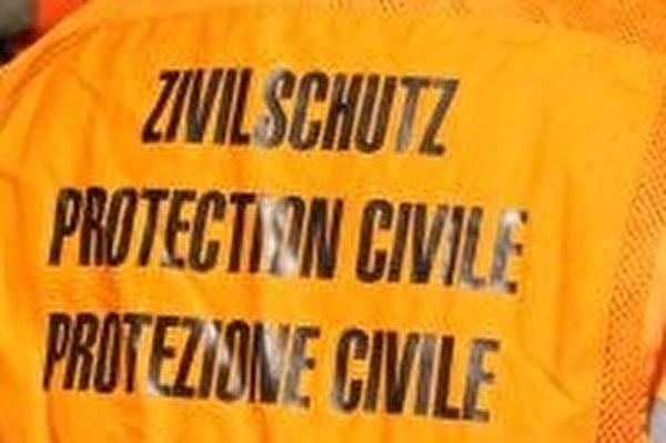 Aufschrift Zivilschutz